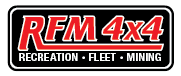 RFM 4x4 - Recreation. Fleet. Mining - All your 4wd Needs